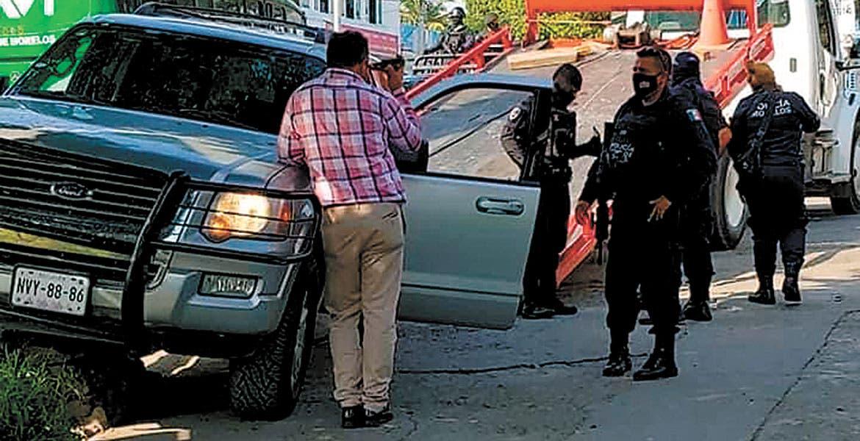 Cae sujeto tras balacera en Xochitepec