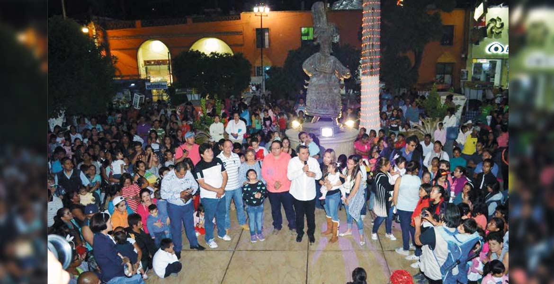Recuperan alegría. El edil Agustín Alonso señaló que con estos eventos se genera un ambiente de tranquilidad entre los habitantes y se atrae turismo.