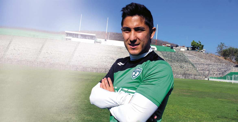 Jesús Lara jugador de Zacatepec.
