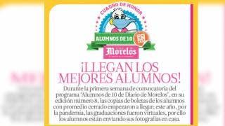 Llegan boletas de primeros Alumnos de 10 de Diario de Morelos 2