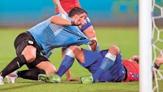 Tiembla  la 'garra': Uruguay no sabe ganar 2