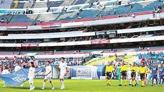 América y Cruz Azul jugarán sin fans 2