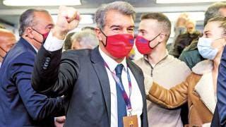 Laporta regresa al Barcelona 2