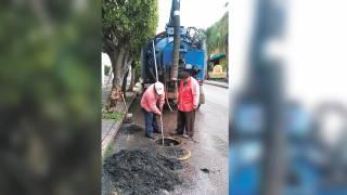 Intensifica SAPAC Cuernavaca desazolve de drenajes 2