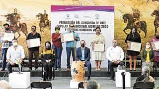 Premian al arte y tesoros vivos de Morelos 2