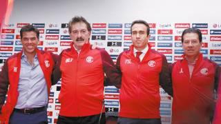 Presentan a nuevo técnico de Toluca; buscará que su equipo sea base del Tricolor 2