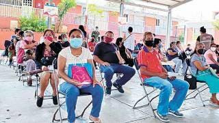 Jornada de vacunación transcurrió sin contratiempos en Morelos 2