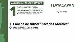Llega vacuna a Tlayacapan y Puente de Ixtla 2