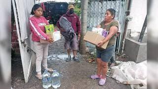 Acude Gobierno del Estado al auxilio de damnificados por lluvias 2