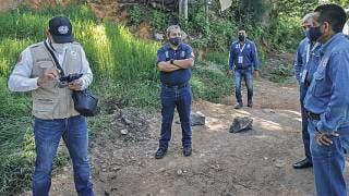 Atiende Protección Civil estatal grietas en Jiutepec 2
