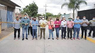 Inaugura alcalde de Yautepec Morelos pavimentación en la Tehuixtlera 2