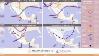 Pronostican lluvias ligeras para Morelos 2