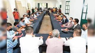 Se inician los trabajos de entrega recepción del Ayuntamiento de Cuautla  2
