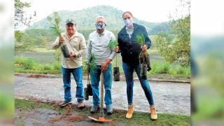 Reforestan La Mojonera de Huitzilac 2