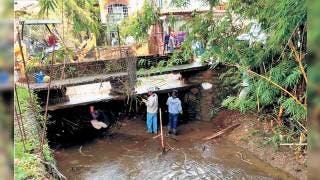 Afectadas 45 viviendas en Tepoztlán por las lluvias  2