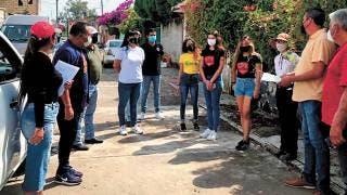 Dan víveres a damnificados de Yautepec 2