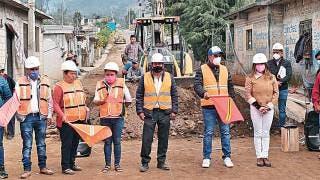 Banderazo a obras en Tetela del Volcán 2
