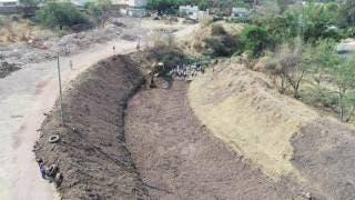 Desazolvan ríos y barrancas en Yautepec 2