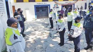 Despiden a oficial fallecido en Jojutla 2