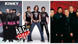 ABC del Rock en Español y nos vamos juntos con Jaguares - Kinky y Los lobos 2
