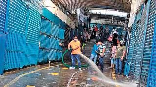 Refuerzan limpieza en el mercado ALM de Cuernavaca 2