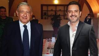 Acompaña alcalde de Cuernavaca a AMLO en gira de trabajo 2
