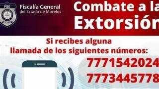 Advierten llamadas de extorsión de2 números telefónicos con lada 777 2