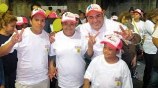 Visita Agustín Alonso 2 barrios de Yautepec