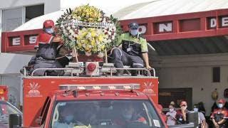 Dan último adiós a bombero de Cuernavaca fallecido en accidente 2
