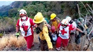 Brigadistas intoxicados tras combatir incendio en Tepoztlán 2