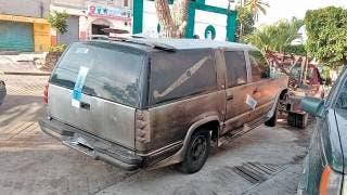 Incendian carroza en Morelos 2