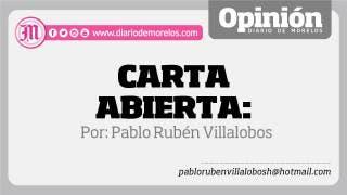 Carta abierta: Urióstegui,  alcalde electo… 2