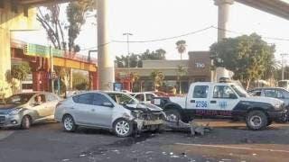 Destroza auto en un choque en Cuernavaca 2