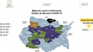 Cierra Morelos con 175 nuevos casos de COVID y 545 casos activos 2