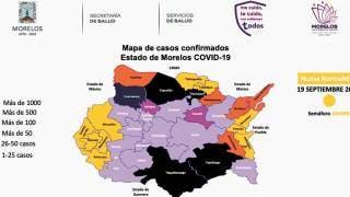 Suman 49 casos de COVID-19 en las últimas 24 horas en Morelos 2