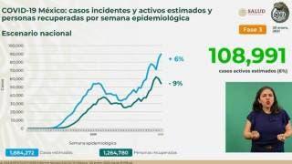 Supera México 144 mil muertes por COVID19 2