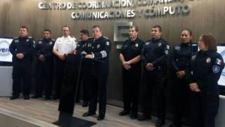 Anuncia. Jesús Alberto Capella informó que el policía herido en la Tesorería de Cuernavaca, no estaba desarmado como dijo el alcalde, y afirmó que trabajan de manera coordinada con fuerzas federales.