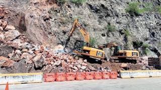 Atiende Capufe derrumbe en la Autopista del Sol; pide extremar precauciones 2
