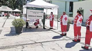 Vacunan a personal de la Cruz Roja Morelos 2