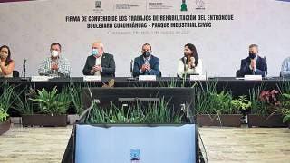 Invertirán en rehabilitación de acceso a Civac, Jiutepec 2