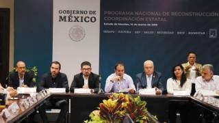 Destinarán a Morelos 720 mdp para continuar la reconstrucción 2