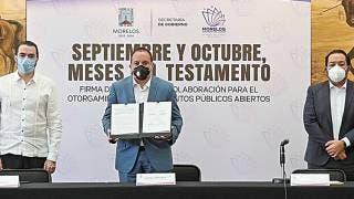 Gratis, testamento para personal que atienden COVID-19 en Morelos 2