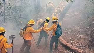 Monitorean zonas de riesgo por incendios en Cuernavaca 2