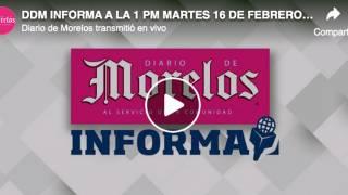 DDM INFORMA A LA 1 PM MARTES 16 DE FEBRE...