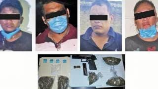 Capturan a cuatro hombres en Xoxocotla con arma y droga 2