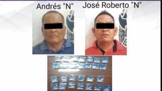 Caen dos en Zacatepec con droga 2