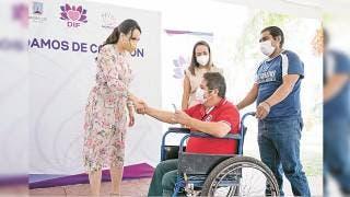 Impulsa Natalia Rezende credencialización de personas con discapacidad
