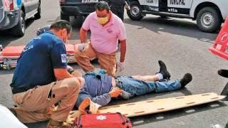 Sufre repartidor accidente en Yecapixtla 2