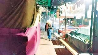 Sanitizan espacios en Tepoztlán 2