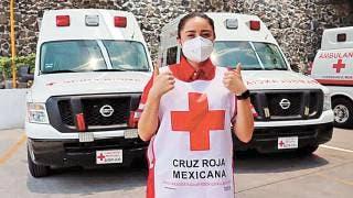 Celebra Cruz Roja su día  en Morelos; voluntaria invita a participar en colecta 2